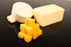 Cheese assortment Royalty Free Stock Photos