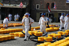 Cheese auction Royalty Free Stock Image