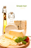 Cheese background Royalty Free Stock Photo