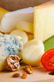 Cheese background Stock Image
