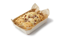 Cheese and bacon bread Royalty Free Stock Photos