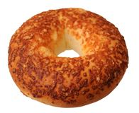 Cheese bagel Royalty Free Stock Image