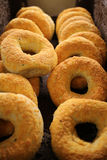 Cheese Bagels Stock Images