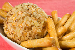 Cheese Ball Stock Image