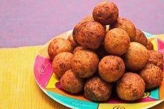 Cheese balls Royalty Free Stock Photos