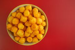 Cheese balls Stock Photo
