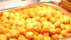 Cheese balls Stock Photography