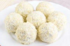 Cheese balls Stock Photography