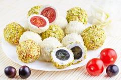 Cheese balls Stock Photos