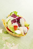 Cheese basket. Royalty Free Stock Images
