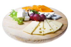 Cheese and berry Stock Photo