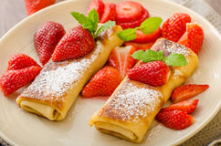 Cheese Blintzes Royalty Free Stock Image