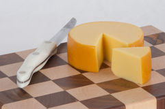 Cheese Block Stock Image