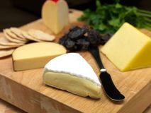 Cheese Board Royalty Free Stock Photography
