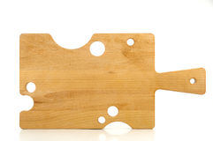 Cheese board. On white background stock photography