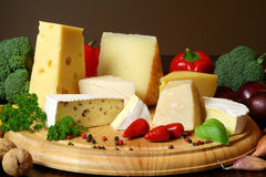 Cheese board Stock Image