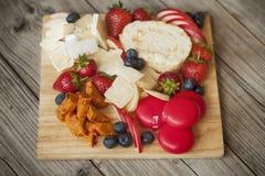 Cheese board Stock Photos
