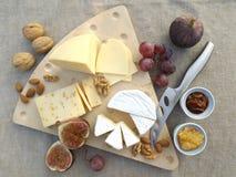 Cheese board Royalty Free Stock Photos