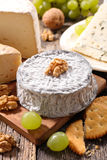 Cheese on board Stock Photo