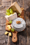Cheese on board Stock Image