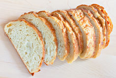 Cheese bread Stock Image