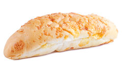 Cheese bread isolated Royalty Free Stock Photography