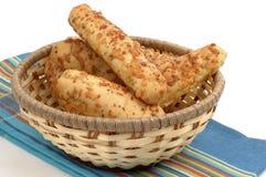Cheese Breadsticks Stock Photo