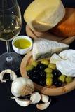 Cheese breakfast Stock Photo