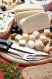 Cheese for breakfast Royalty Free Stock Image