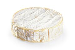 Cheese brie. Cheese brie isolated on white background stock image