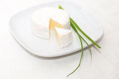Cheese brie Royalty Free Stock Photos