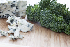Cheese and Broccoli Stock Image
