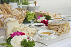 Cheese buffet Stock Image