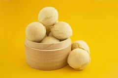 Cheese buns. Traditional brasilian food. Pao de  Queijo Royalty Free Stock Photo