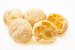 Cheese buns. Traditional Brazilian food royalty free stock images