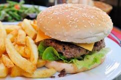 Cheese burger Stock Photo