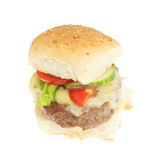 Cheese burger Stock Images
