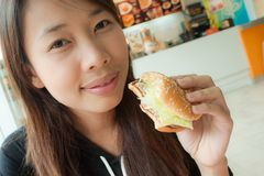 Free Cheese Burger Royalty Free Stock Images - 20639679