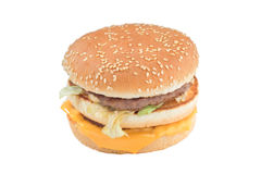 Cheese burger Royalty Free Stock Photography