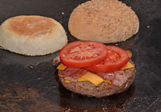 Cheese burger Royalty Free Stock Image