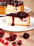Cheese cake Royalty Free Stock Photos
