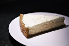 Cheese Cake or Key Lime Pie stock images