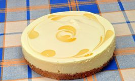 Cheese cake lemon Royalty Free Stock Photography