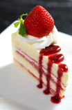 Cheese cake New-York Royalty Free Stock Photos
