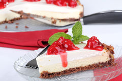 Cheese Cake Slice royalty free stock images