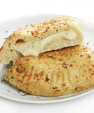 Cheese Calzone Royalty Free Stock Photography