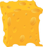 Cheese. Cartoon Royalty Free Stock Images