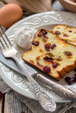 Cheese Casserole for breakfast. Stock Images