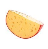 Cheese. Cheese wheel. Royalty Free Stock Images