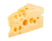 Cheese chunk Stock Photos